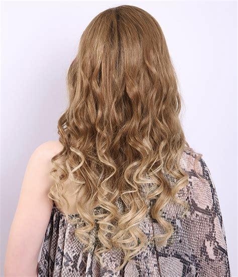 ombre hair extensions uniwigs wigs human hair lauren conrad big wave ombre color virgin remy human hair