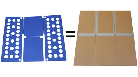 membuat jemuran pakaian cara membuat alat pelipat pakaian sederhana dari kardus