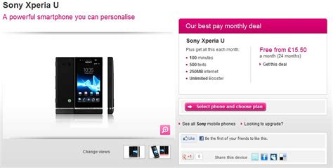 t mobile uk t mobile uk customers can snag a free sony xperia u on