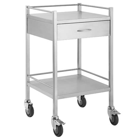 Instrument Trolley 1 qube stainless steel instrument trolley 1 drawer marne