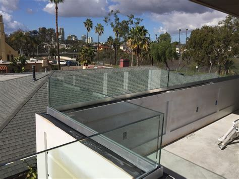 Tempered Glass Railing glass railing san diego patriot glass and mirror san diego ca
