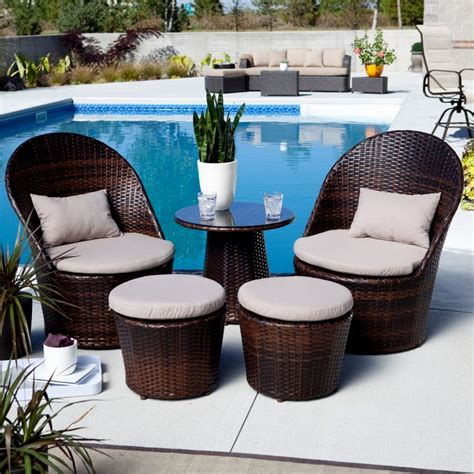 Patio Patio Furniture For Small Spaces Outdoor Bistro Small Outdoor Furniture For Balcony