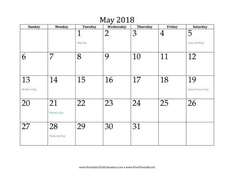 2018 Printable Calendar Free Printable Calendar 25 Free Professional Calendar