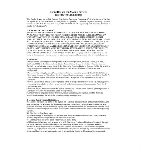 Distributor Agreement Letter Format What Are Distributor Agreements Archives Carspart
