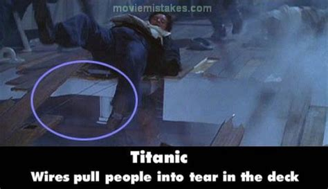 titanic film bloopers titanic movie mistakes 15 pics izismile com