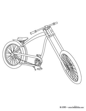 bmx biker coloring pages
