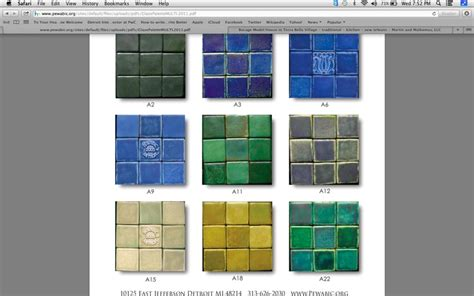 going with a pewabic tile backsplash maura s dream