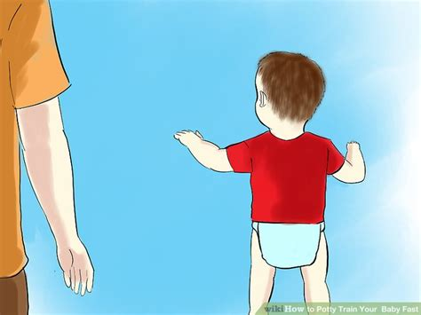 how to potty an fast how to potty your baby fast 3 steps with pictures