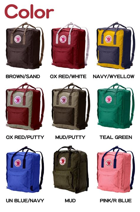 Fjallraven Kanken Tas Ransel Color Ox socalworks rakuten global market kuan club fjallraven