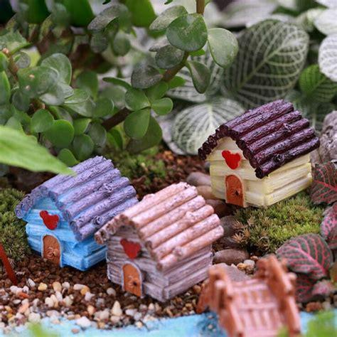 Resin Garden Decor Micro Landscape Decorations Resin Mini House Garden Diy Decor Alex Nld