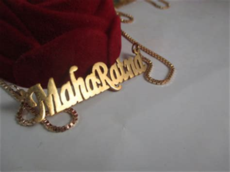 Kalung Cincin Nama Lapis Emas Kotak Perhiasan Kado Ultah Pernikahan jual kalung nama monel lapis emas pusat aksesoris monel