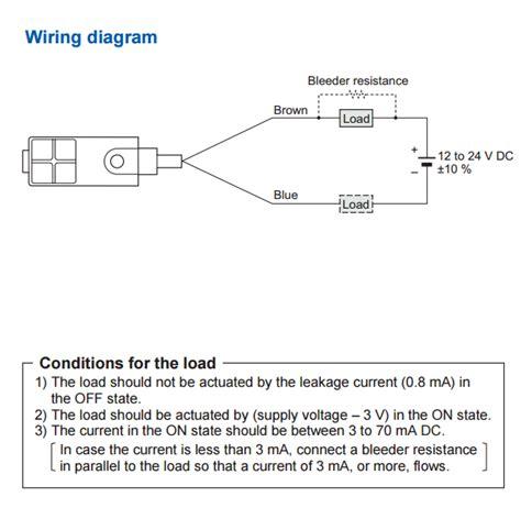 inductive proximity sensor wiring diagrams pressure