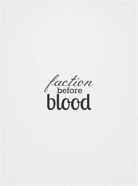 faction before blood   Divergent, Divergent insurgent