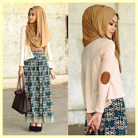 Rok Span Panjang Pastel 5 tips pakaian muslim modis yang islami nibinebu