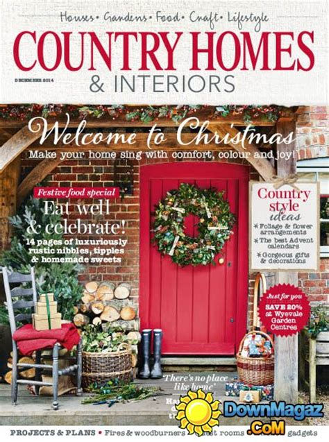 country home design magazines country homes interiors december 2014 187 download pdf