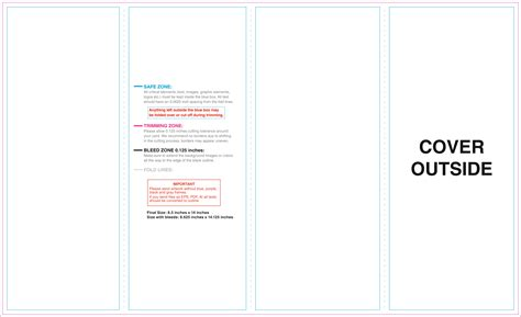 roll fold brochure template templates for brochures printingyoucantrust