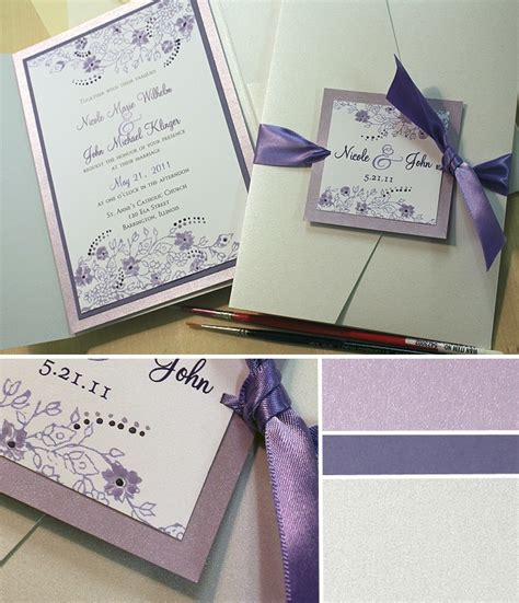 Ideas For Handmade Wedding Invitations - handmade wedding invites ideas iidaemilia