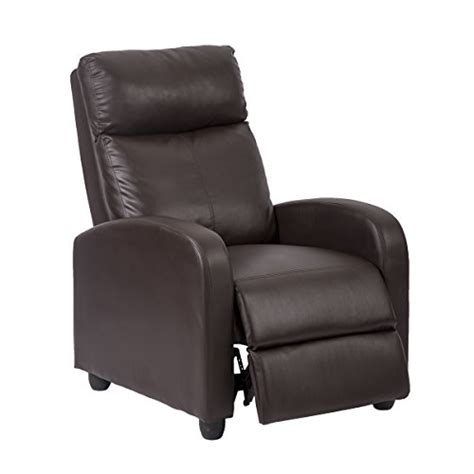 single leather recliner chairs single recliner chair sofa furniture modern leather chaise