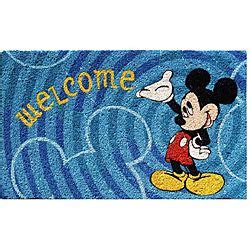Doormats Shopping by Disney S Mickey Mouse Welcome Doormat 18 Quot X 30 Quot By