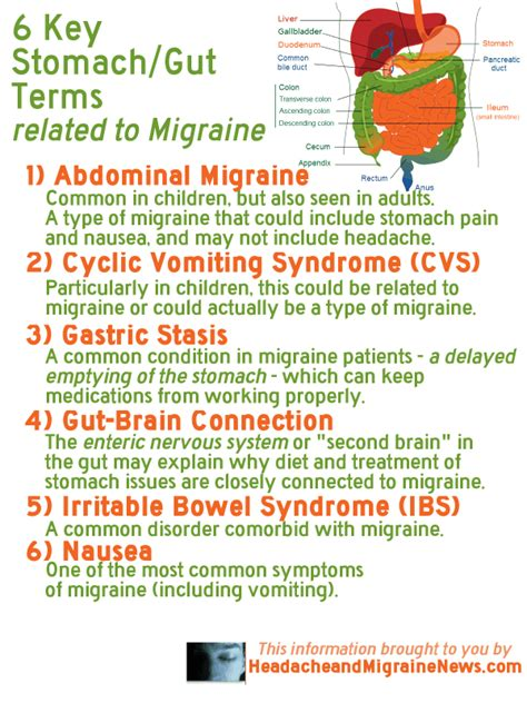 what are abdominal migraines the health manual