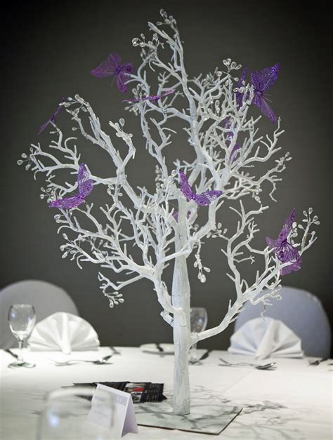 event perfect butterfly tree table centrepiece
