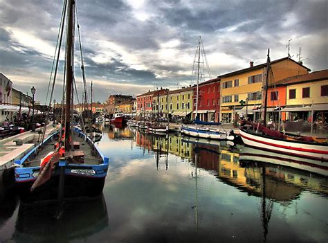 cesenatico porto canale panoramio photo of porto canale cesenatico