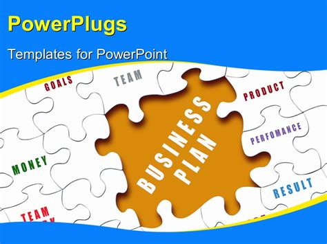 Powerpoint Template The Business Plan Puzzle Piece Puzzle Pieces For Powerpoint