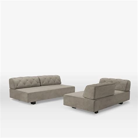 Tillary 174 2 Sofa Sectional Tufted West Elm Tillary Tufted Sofa