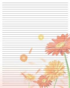 Designer Writing Paper Printable Writing Paper 107 By Aimee Valentine Art