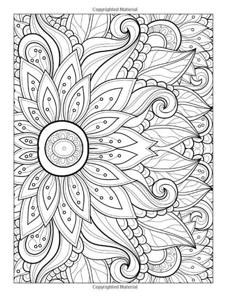 printable adult coloring pages flowers free printable abstract coloring pages for adults