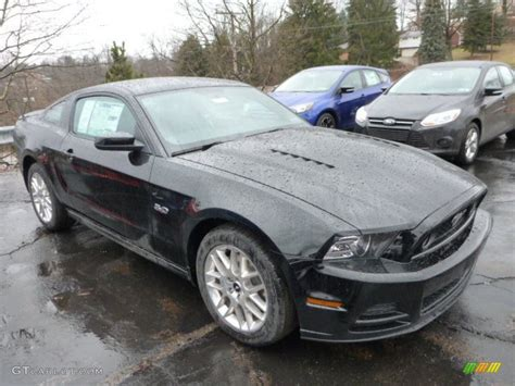black 2014 mustang 2014 black ford mustang gt premium coupe 77454035