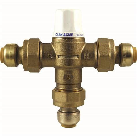 Mixing Valve Plumbing by Heatguard 160 Thermostatic Mixing Valve 1 Inch Valve For
