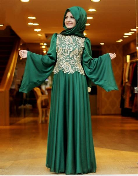 Dress Arabic aliexpress buy sleeve muslim evening dresses