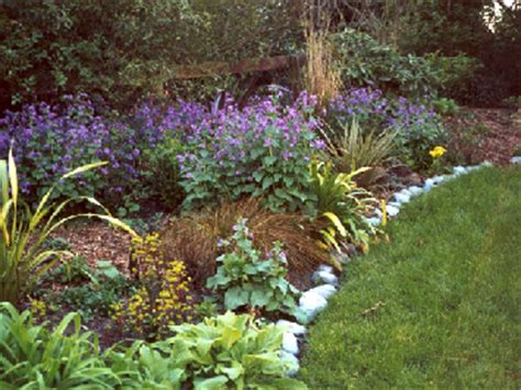 purple flower garden garden designs pictures