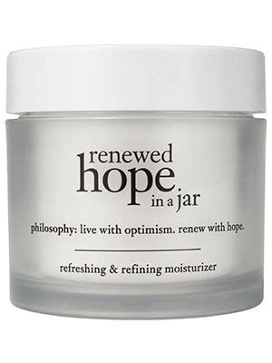 In Jar E M K Anti Aging Limited philosophy in a jar and moisturizer on