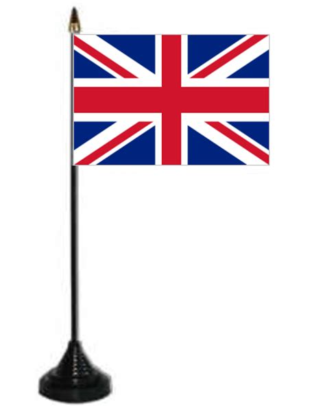 desk flag stand great britain union desk table flag with plastic