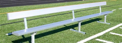 athletic benches athletic field equipment jw industries