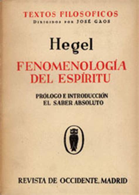 libro fenomenologia del espiritu fenomenologia libro fenomenologia del espiritu descargar gratis pdf