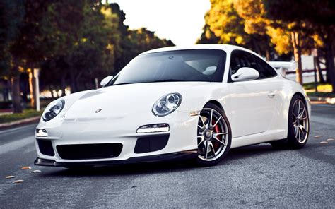 porsche white car 배경 화면 포르쉐 911 gt3 흰색 초차 1920x1200 hd 그림 이미지