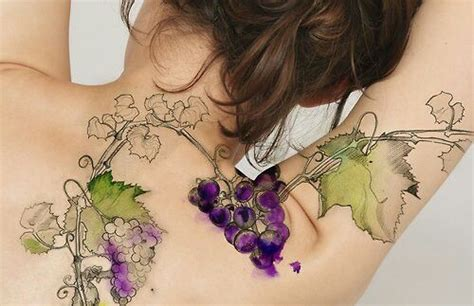 grape vine tattoo designs 41 grape ideas to celebrate and