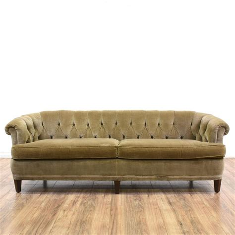 olive green velvet sofa 17 best ideas about olive green couches on pinterest