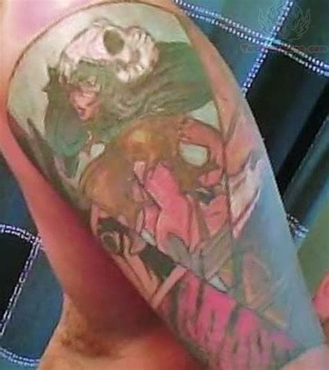 anime sleeve tattoo designs anime half sleeve