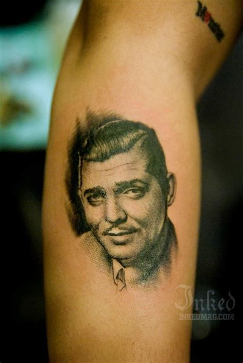 successful people with tattoos pin clark gable in to a image 24902217 on