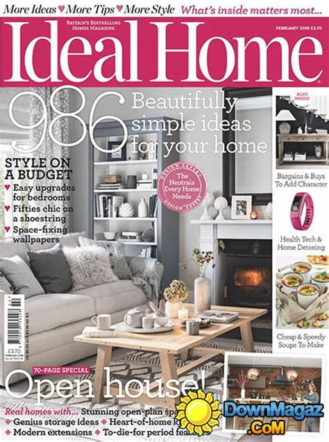 ideal home ideal home uk february 2016 187 download pdf magazines