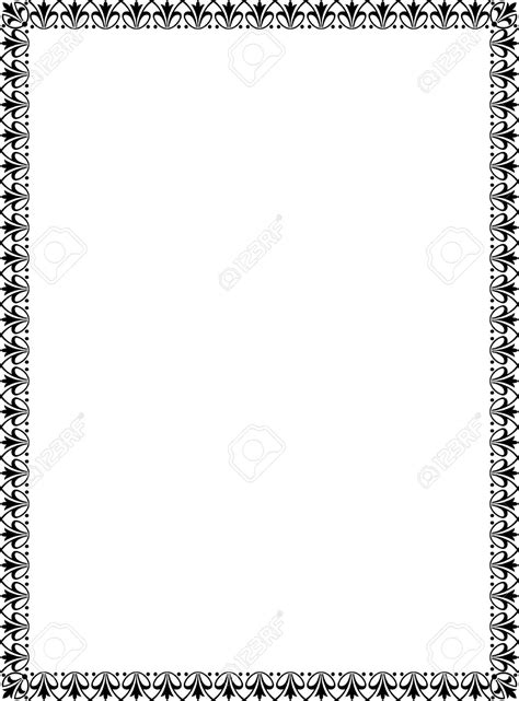 Best Black And White Border #17182 - Clipartion.com