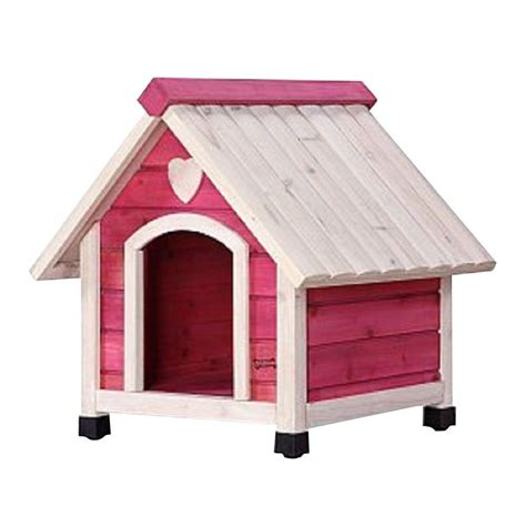extra small dog house pet squeak 1 8 ft l x 1 85 ft w x 1 9 ft h arf frame pink extra small dog house 0006xs pk