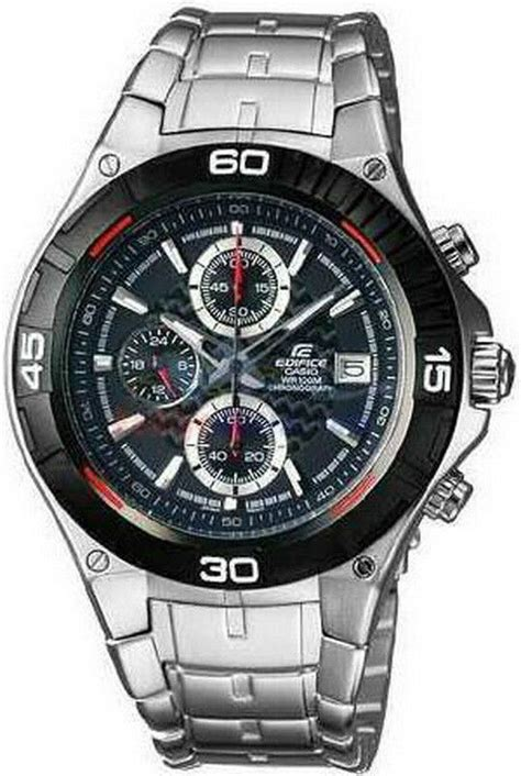 casio edifice chronograph mens  ef sp  ebay