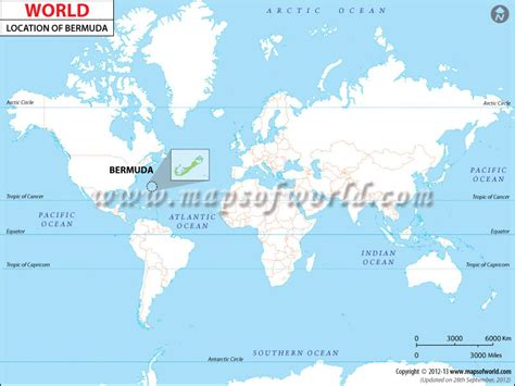 bermuda world map where is bermuda bermuda location in world map