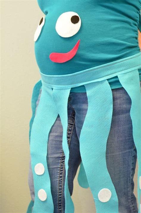 octopus costume easy maternity halloween costumes