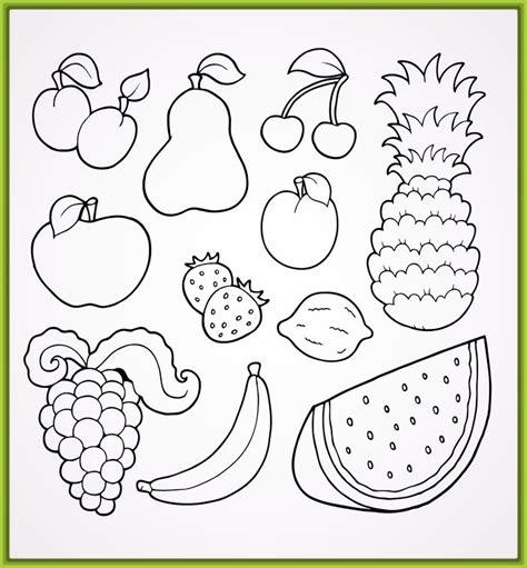 Imagenes Para Colorear Verduras Y Frutas | dibujos de frutas y verduras para imprimir y colorear por